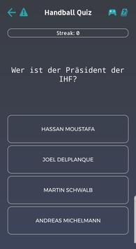 Handball Quiz screenshot 1