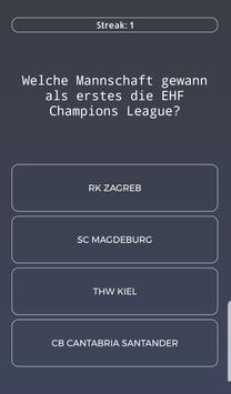 Handball Quiz screenshot 2