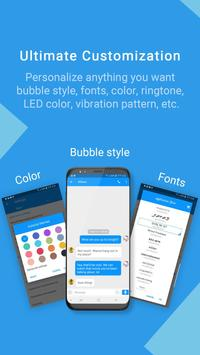 Handcent Next SMS (Best texting with MMS,stickers) poster