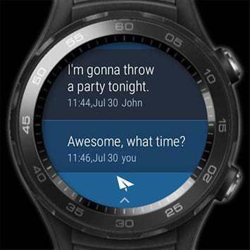 Handcent Next SMS (meilleur SMS avec MMS) capture d'écran 11