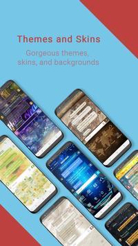 Handcent Next SMS (meilleur SMS avec MMS) capture d'écran 1