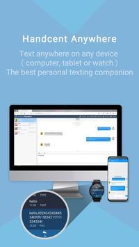 Handcent Next SMS (meilleur SMS avec MMS) capture d'écran 3