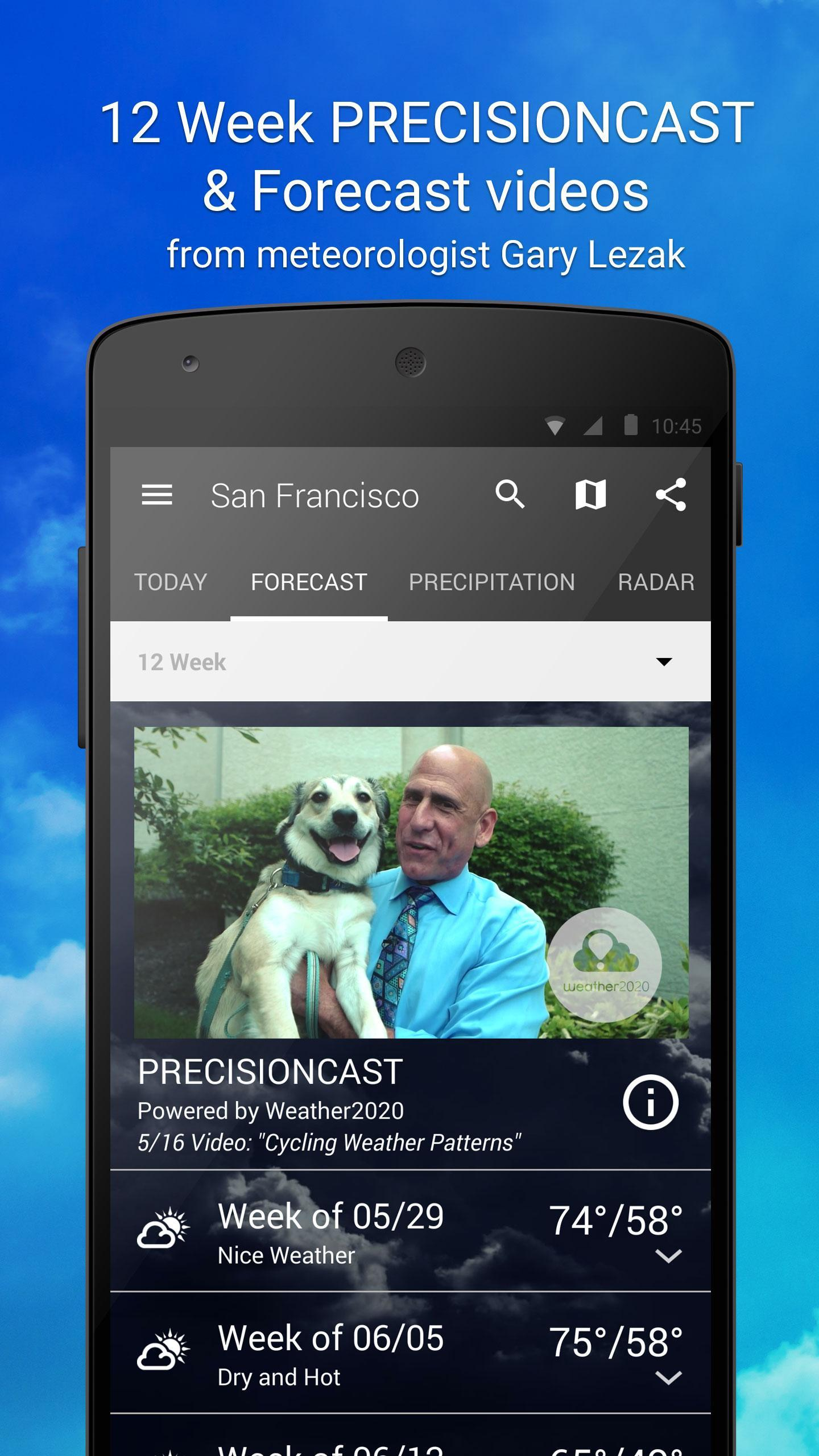 1Weather for Android - APK Download