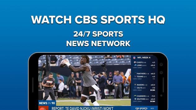 CBS Sports Poster