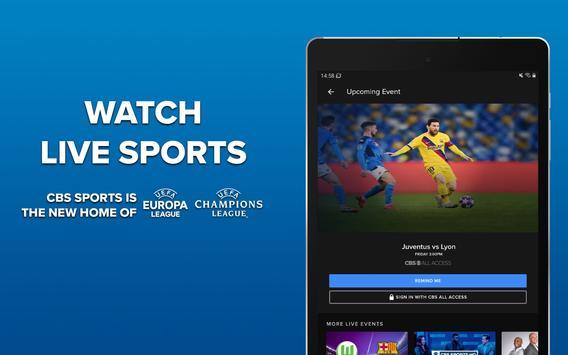 CBS Sports captura de pantalla 15