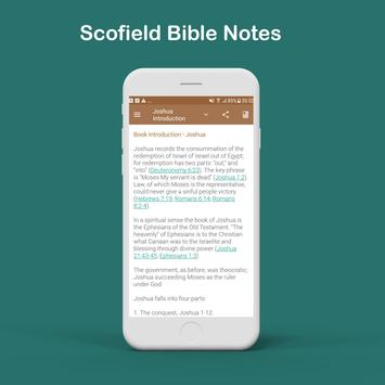 Scofield Reference Bible Notes poster