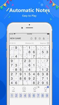 Sudoku تصوير الشاشة 17