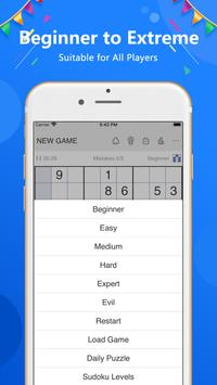 Sudoku تصوير الشاشة 18