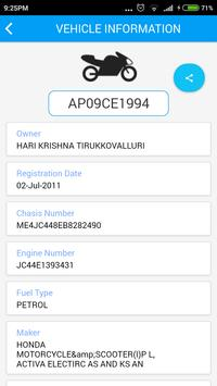 RTO Vehicle Information screenshot 5