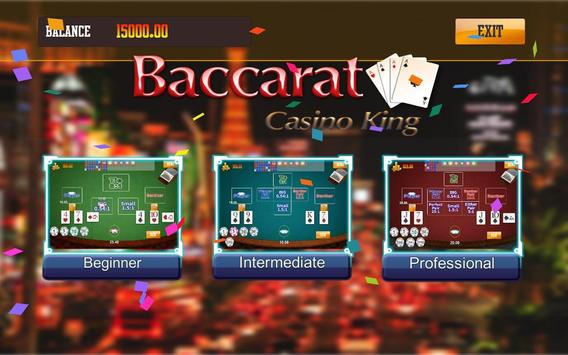 Baccarat poster