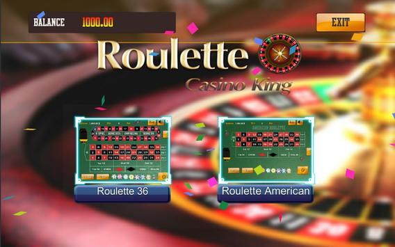 Roulette king - CasinoKing free game poster