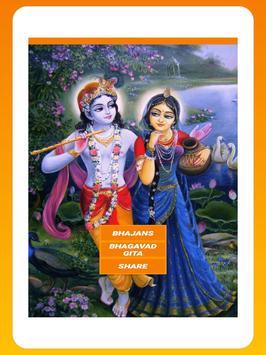 Krishna Bhajan Bhakti Songs - Audio + Lyrics screenshot 11