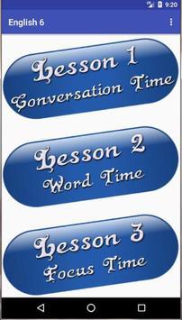 شرح مادة اللغة الإنجليزية الصف السادس screenshot 2