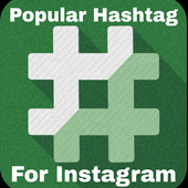 HashTags For Insta Best hashtags popular tags icon