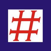 Hashtags icono