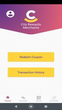 City Rewards Merchant screenshot 2
