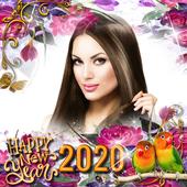 New Year Photo Frame 2020 icon