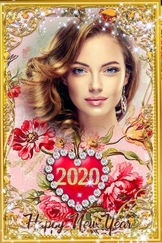 New Year Photo Frame 2020 screenshot 10