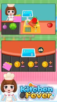 Bella's kitchen fever - Simulated cooking game screenshot 1