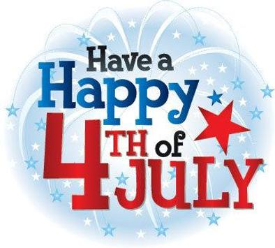 Happy 4th July Greetings poster