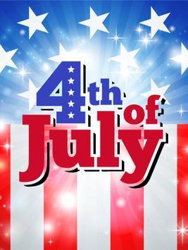 Happy 4th July Greetings screenshot 2
