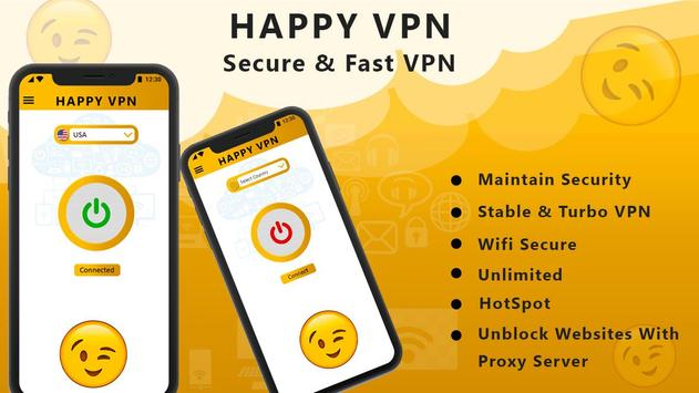 Happy Free VPN – Unlimited Open & Pure VPN Client screenshot 9