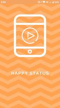 Happy Status plakat