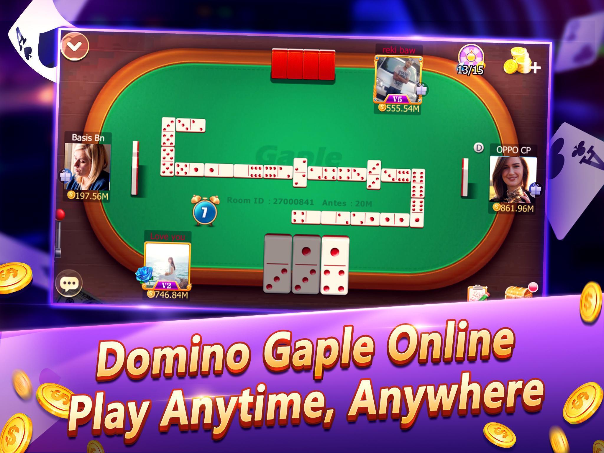 Domino Gaple 2018 Online Game Para Android Apk Baixar