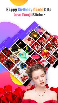 Happy Birthday GIFs & Love Roses Sticker 截圖 3