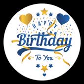 Happy Birthday Stickers 2019 for Whatsapp icon