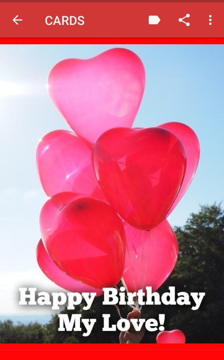 Joyeux Anniversaire Mon Amour Pour Android Téléchargez L Apk