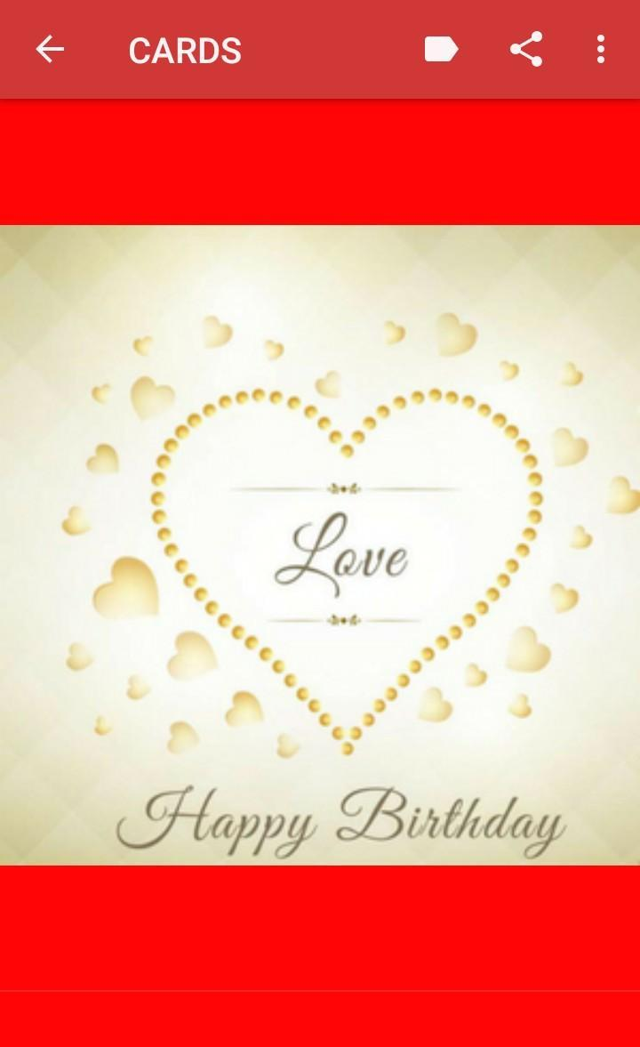 Joyeux Anniversaire Mon Amour Pour Android Téléchargez Lapk