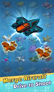 Aircraft & Cube poster