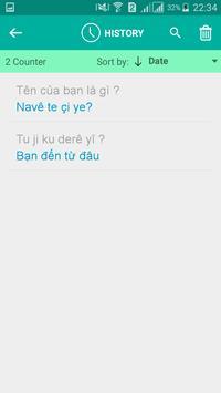 Kurdish Vietnamese Translator screenshot 3