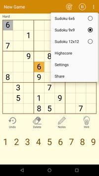 Daily Sudoku free puzzle screenshot 5