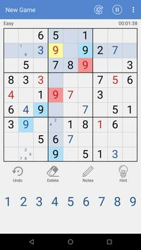 Daily Sudoku free puzzle poster
