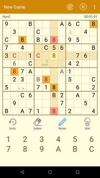 Daily Sudoku free puzzle screenshot 1