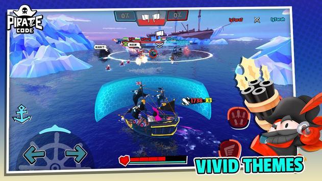 Pirate Code - PVP Battles at Sea screenshot 4