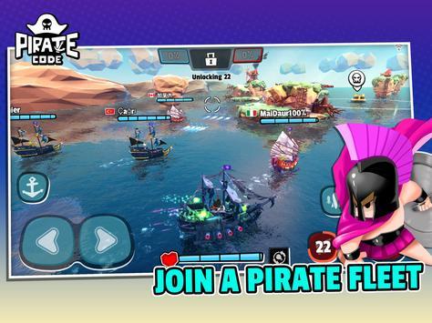 Pirate Code - PVP Battles at Sea screenshot 11