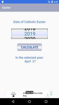 Catholic Easter Date screenshot 1
