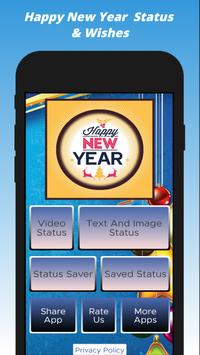 Happy New Year Status Video,Text And Images Wishes screenshot 6