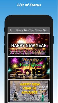 Happy New Year Status Video,Text And Images Wishes screenshot 7