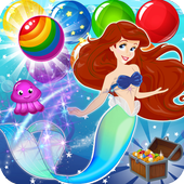 Bubble Happy Mermaid : Fantasy World icon