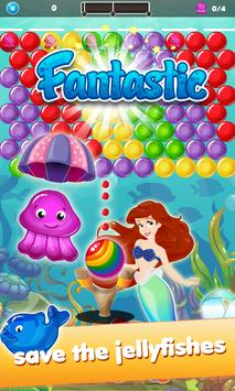 Bubble Happy Mermaid : Fantasy World screenshot 4