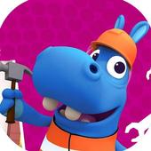 The super Happos 2: Playtime Game Free 3D icon