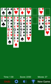 FreeCell screenshot 2