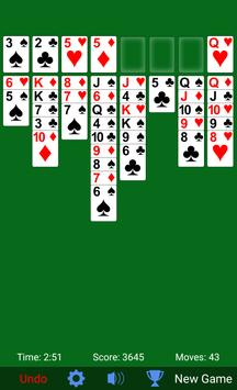 FreeCell screenshot 3