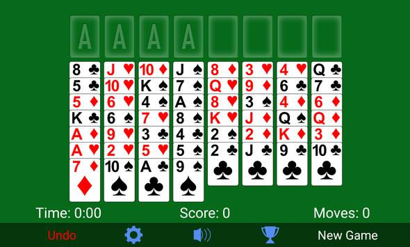 FreeCell screenshot 5