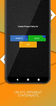 Privacy Policy Creator poster