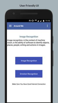 Around Me - Image Recognition - Pro poster